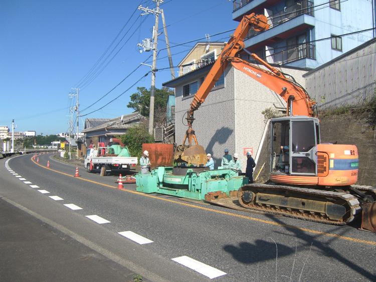 堺地区汚水管渠布設工事