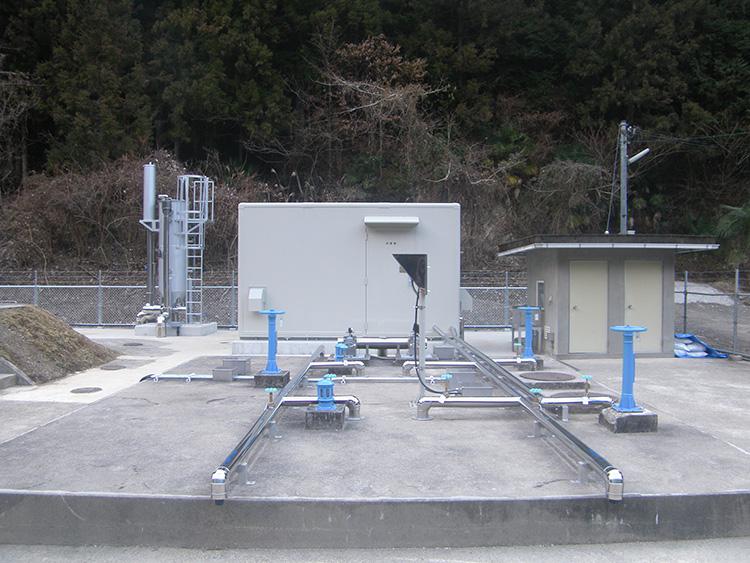 押手簡易水道施設設備(高濁度対策)工事