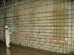 室山配水池耐震補強及び緊急遮断弁設置工事