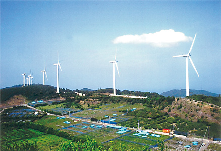 有田川風力発電事業竣工 イメージ