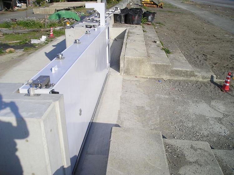 美浜海岸線海岸整備工事 イメージ